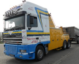 DAF FA 95 XF @ Takeldienst CNS